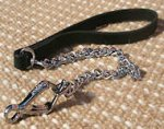 Steel Chrome Plated Chain Dog Leash for Great Dane