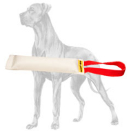 Pocket Fire Hose Great Dane Bite Tug With Handle