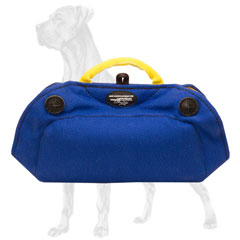 French Linen Great Dane Bite Builder for Basic Puppy Training