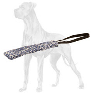 35% OFF - LIMITED OFFER Easy to Carry Pocket French Linen Bite Tug for Great Dane