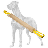 Reliable Long Jute Bite Tug for Great Dane Breed