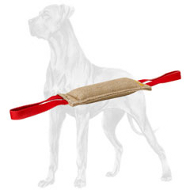 Professional Jute Great Dane Bute Tug for Puppy Training