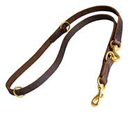 Classic Leather Great Dane Leash - 7 Different Modes in One Lead