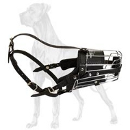 Superior Metal Cage Great Dane Muzzle
