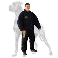 French Linen Protection Suit for Great Dane Training