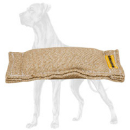 Jute Great Dane Bite Tug without Handles