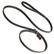 Fast Leather Great Dane Leash and Choke Collar Combo