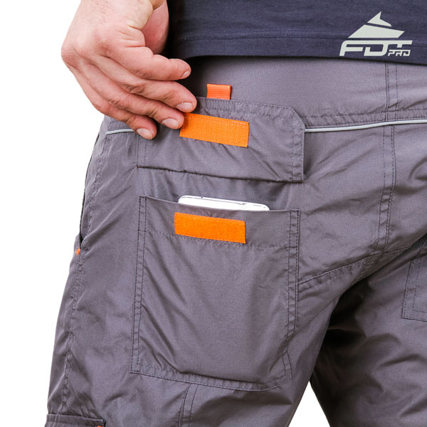 Comfortable Design Pro Pants with Strong Back Pockets for Dog Trainers