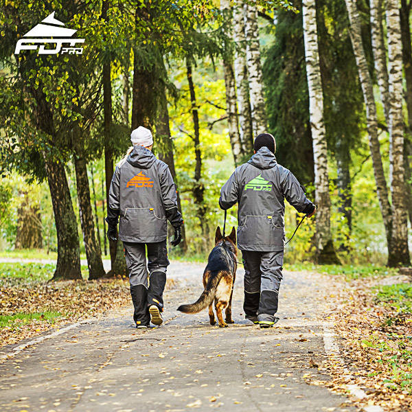 FDT Pro Dog Trainer Jacket of Quality for Any Weather Conditions