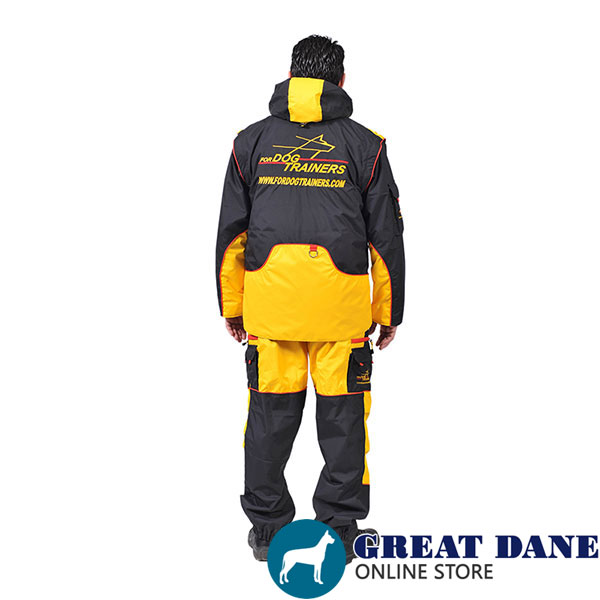 Pro Training Suit of Water Resistant Material