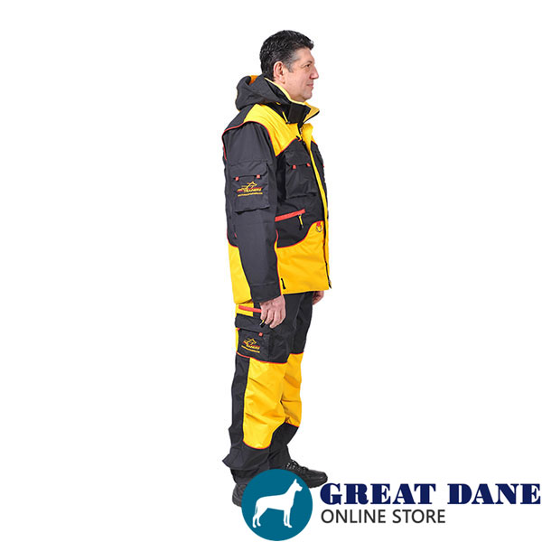Handy Training Suit with Side Pockets