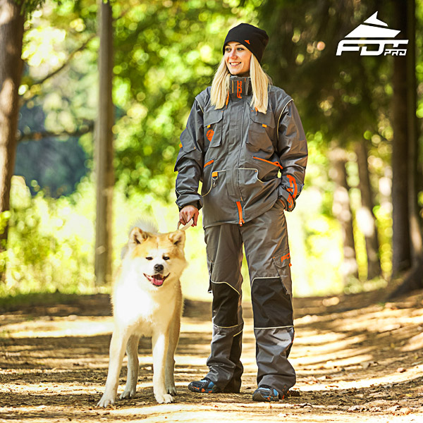 Men and Women Design Dog Trainer Jacket of Top Notch Materials