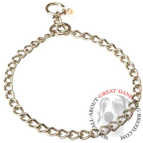 Herm Sprenger Stainless Steel Chain Great Dane Choke Collar
