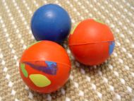 Crazy Color Rubber Ball for Great Dane