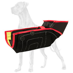 French linen Great Dane bite sleeve for young and adult  training