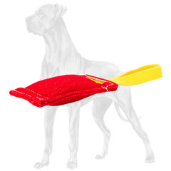 Bite tug for effective Great Dane puppy training