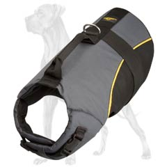 Warm Nylon Dog Vest Harness for Winter