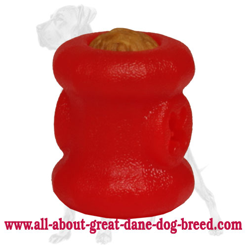 Small Foam Great Dane Ball for Chewing